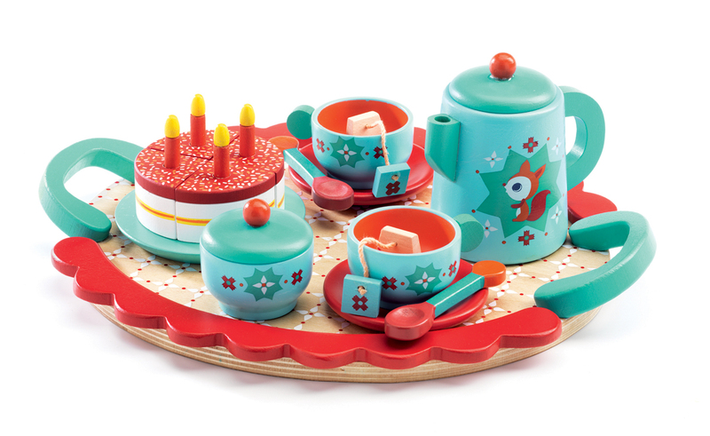 Toy Tea Sets For Boys : Djeco fox s tea party by for in home corner