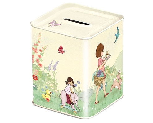 Belle Amp Boo Tin Money Box For 8 95 In Bits Amp Bobs